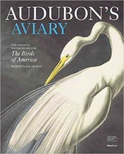 Audubon's Aviary: The Original Watercolors for The Birds of America cover