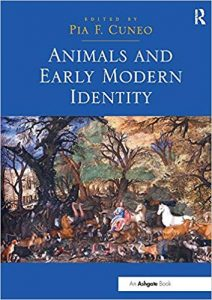 Animals and Early Modern Identity cover