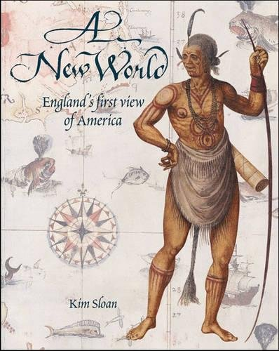 A New World: England's First View of America cover