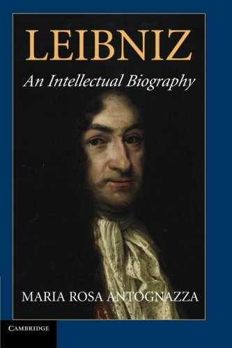 Leibniz: An Intellectual Biography cover