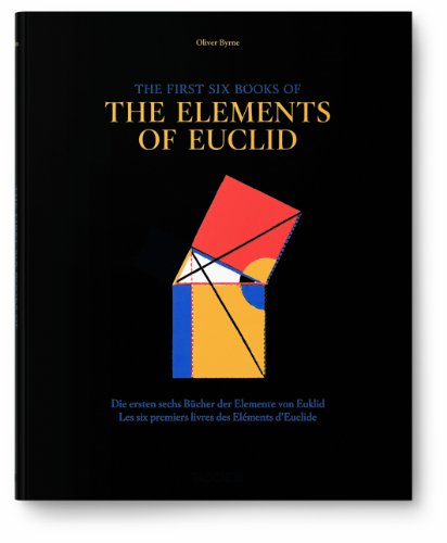 Oliver Byrne's Six   Books of Euclid cover