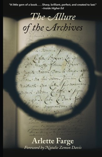 The Allure of the   Archives cover