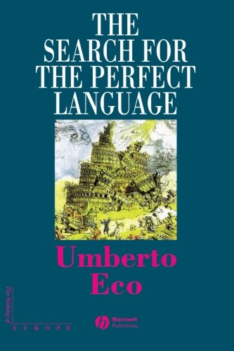 The Search for the Perfect Language cover