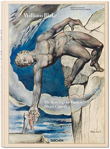 William Blake: The   Drawings for Dante's Divine Comedy cover