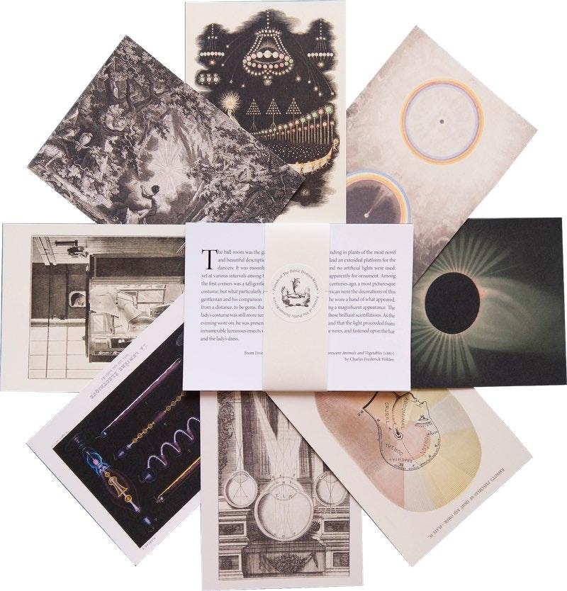 sample postcards