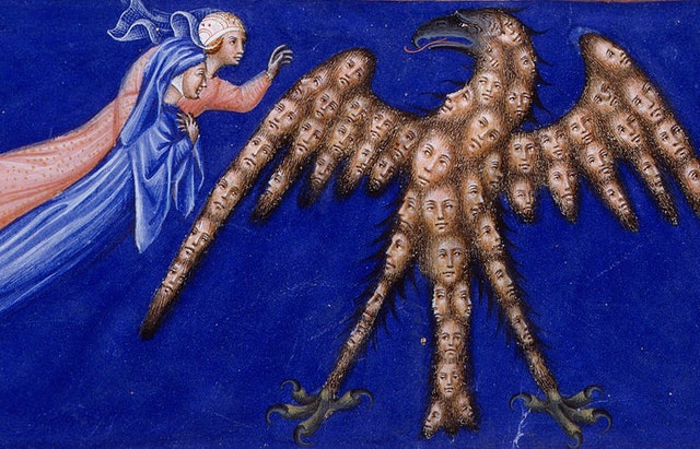 14th-Century Illuminations for Dante's Divine Comedy