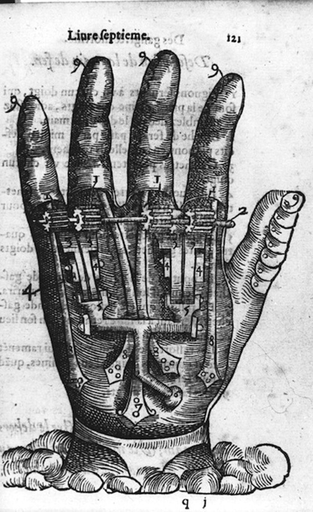 16th-century Prosthetics (1564)