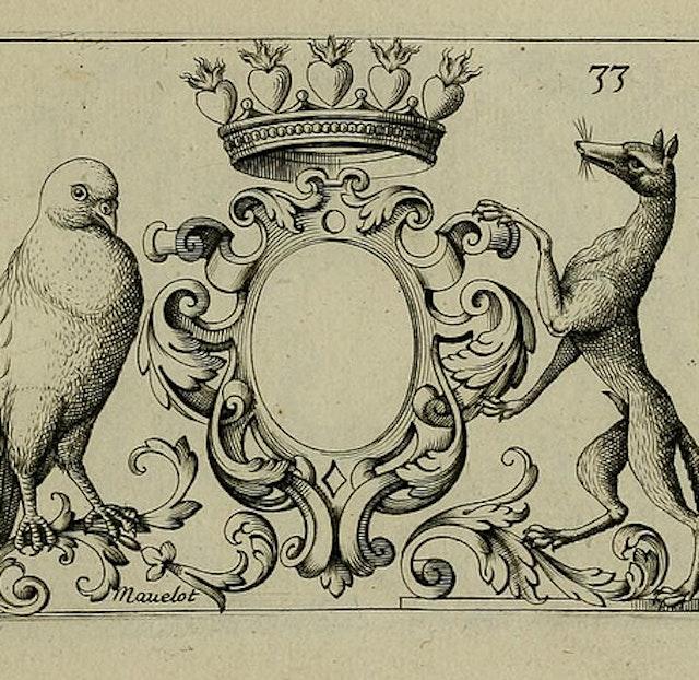 17th-century Heraldry Designs (1695)