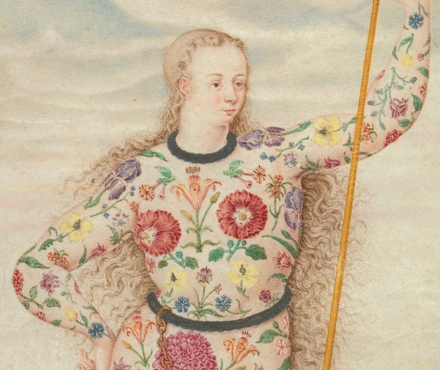 A Young Daughter of the Picts (ca. 1585)