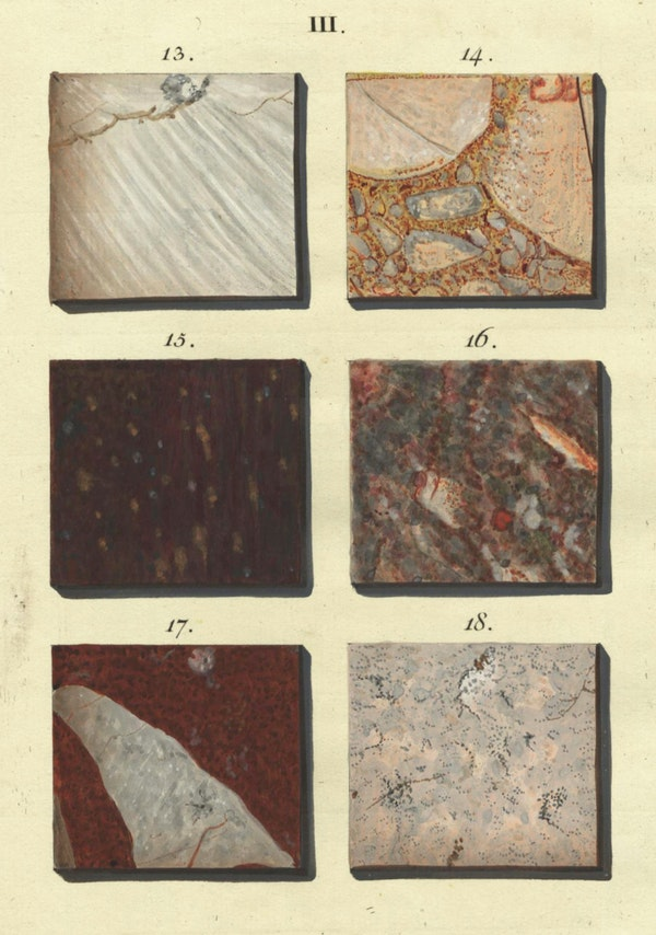 Illustration of marble