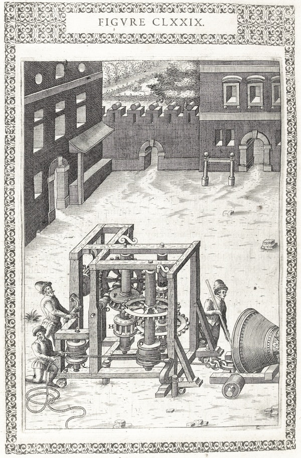 Illustration from Ramelli's *Diverse and artificial machines*