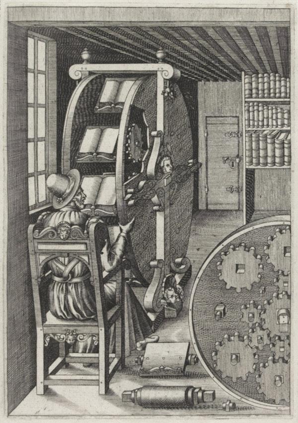 ramelli bookwheel