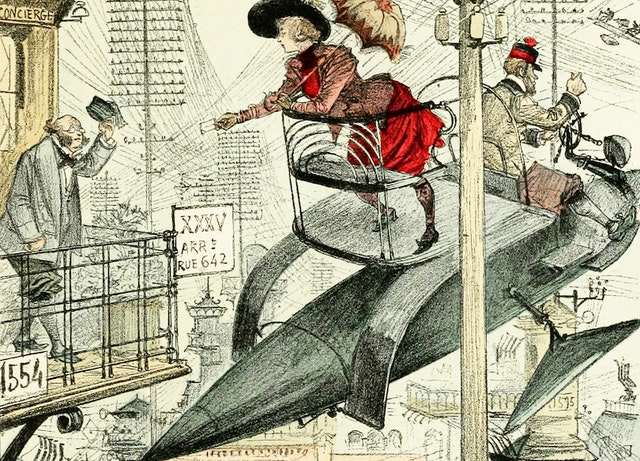 The Future Imagined in Albert Robida's *La vie électrique* (1890)
