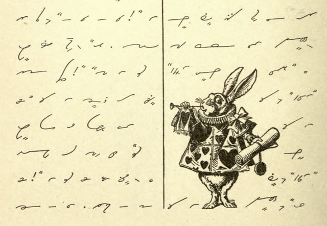 Alice's Adventures in Shorthand (1919)