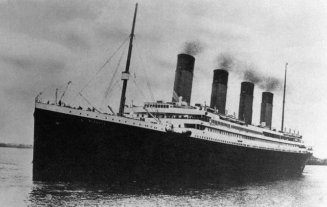 An Apparent Tour of the Titanic (1912)