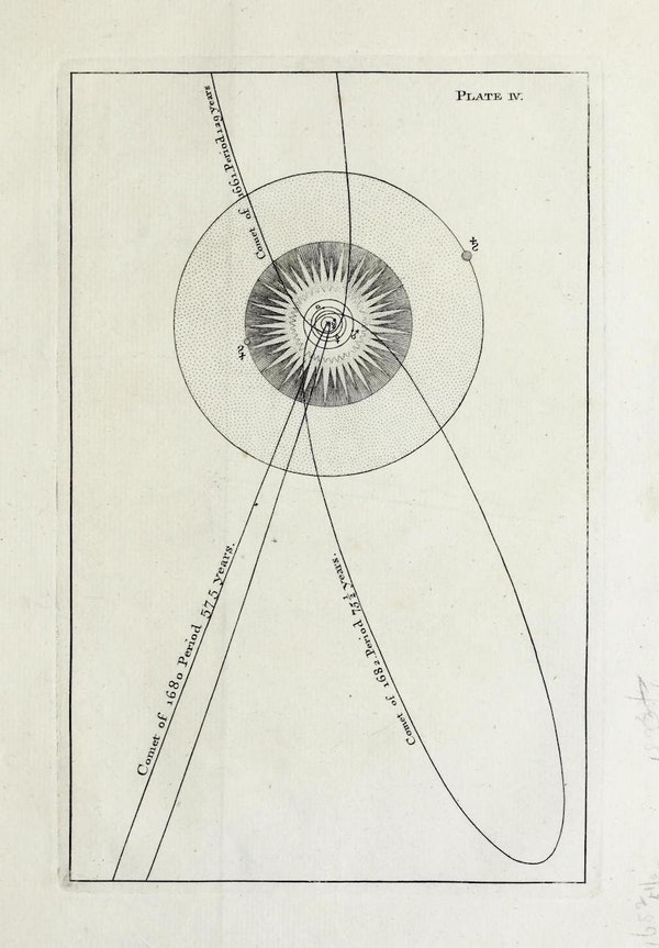 illustration from An Original Theory or New Hypothesis of the Universe