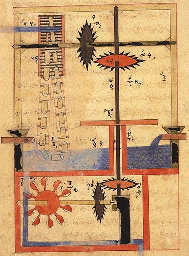 Arabic Machine Manuscript