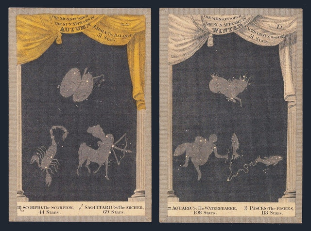 Astronomia Playing Cards (1829)