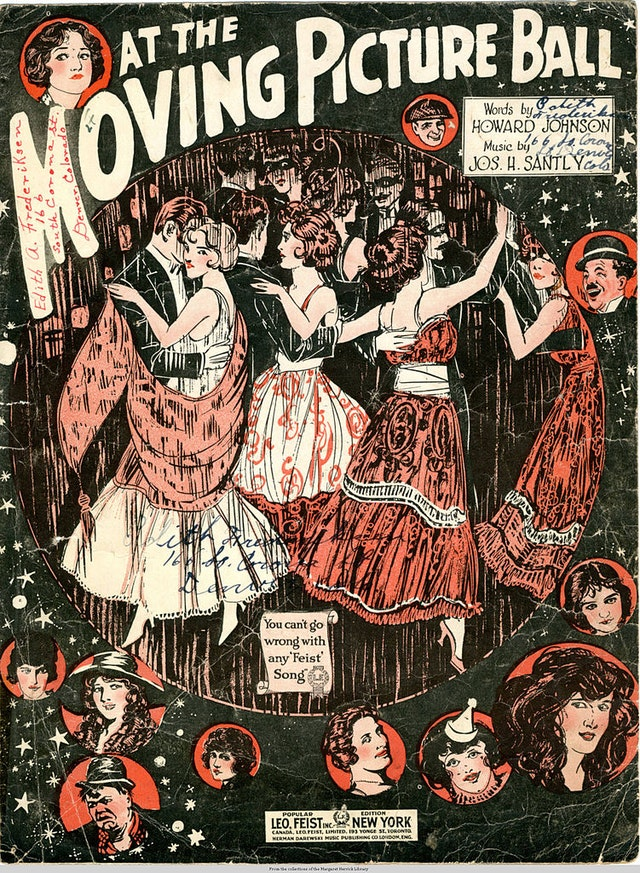 At the Moving Picture Ball (1920)