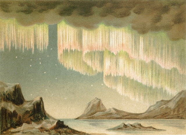 """Firelight Flickering on the Ceiling of the World"": The Aurora Borealis in Art"