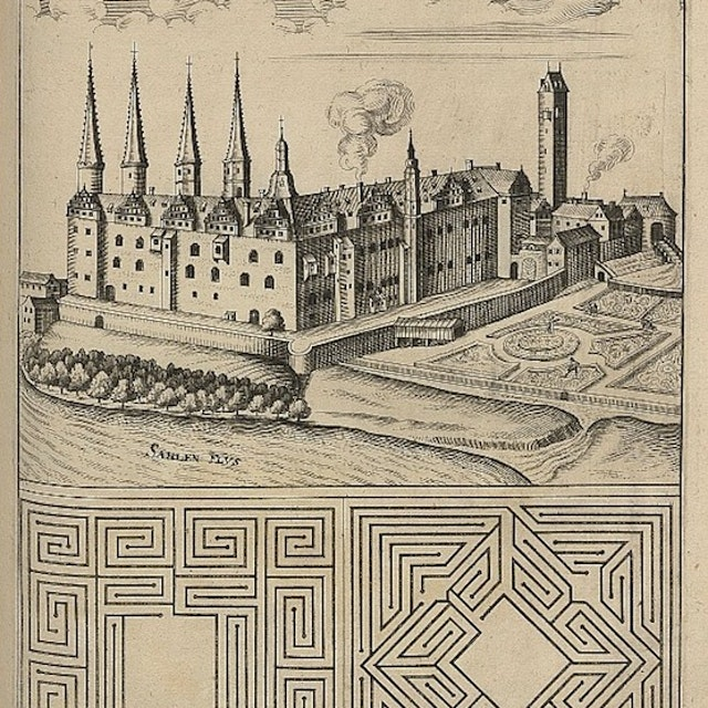 Böckler's Pleasure Garden Plans (1664)