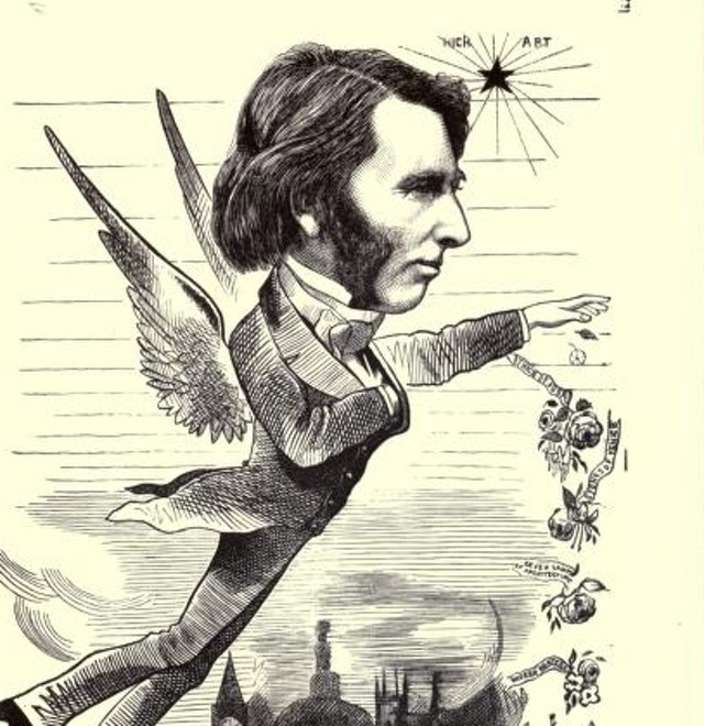 Cartoon Portraits of Leading 19th-Century Figures (1873)