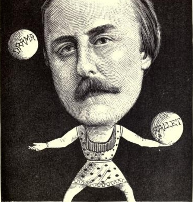 Cartoon Portraits of Men of the Day (1873)