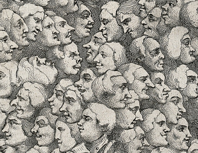 Characters and Caricaturas by William Hogarth (1743)
