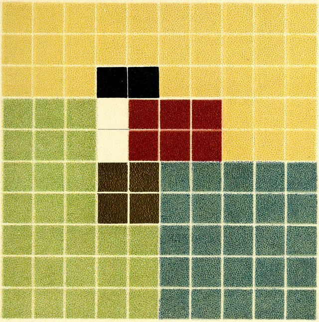 Colour Analysis Charts by Emily Noyes Vanderpoel (1902)