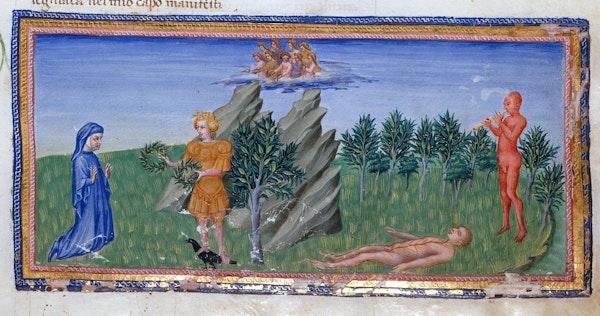 Illustration for Dante's Divine Comedy