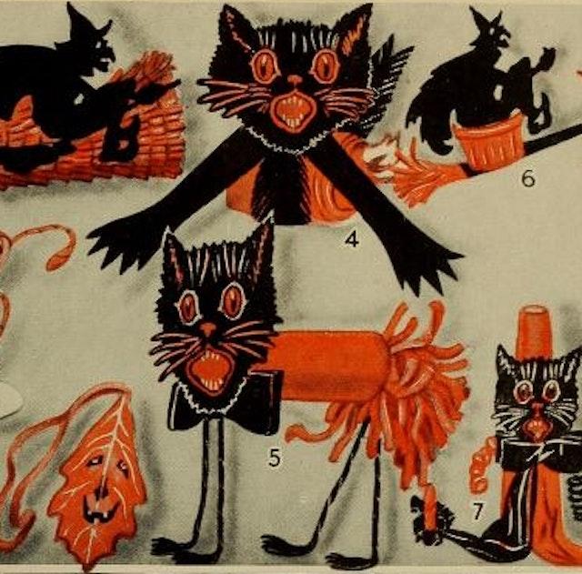 Dennison's Bogie Book for Halloween (1920)