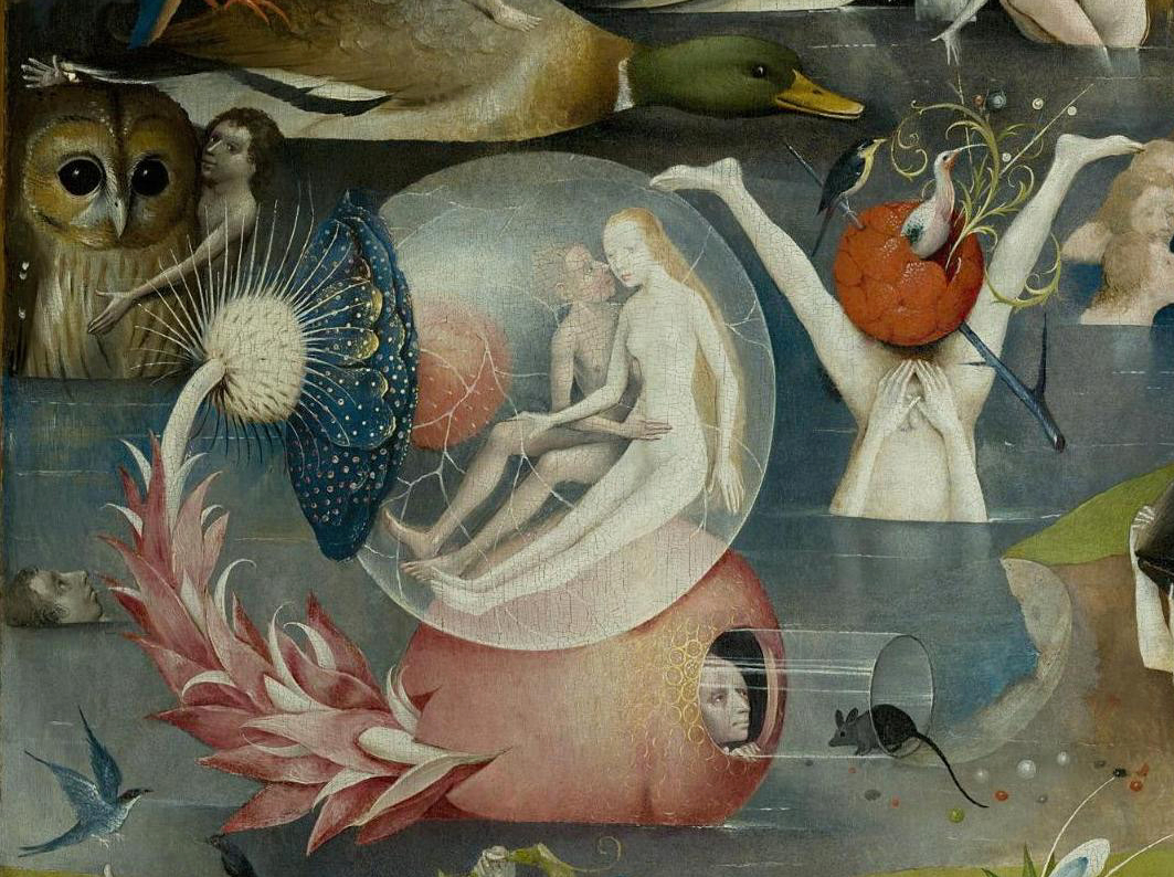 Details From Bosch S Garden Of Earthly Delights Ca 1500 The Public Domain Review