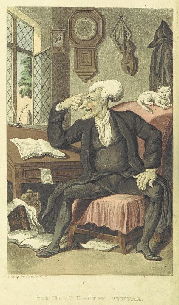 dr syntax thomas rowlandson illustration