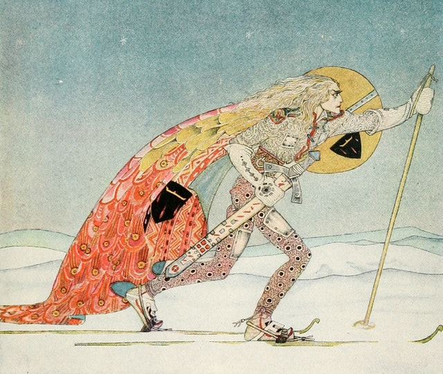 East of the Sun and West of the Moon, illustrated by Kay Nielsen (1922 edition)