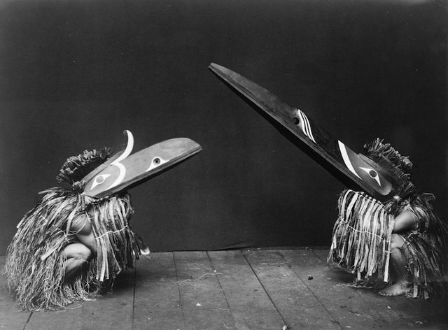 Edward Curtis' Photographs of Kwakwaka'wakw Ceremonial Dress and Masks (ca. 1914)