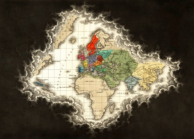 Clouds of Unknowing: Edward Quin's *Historical Atlas* (1830)