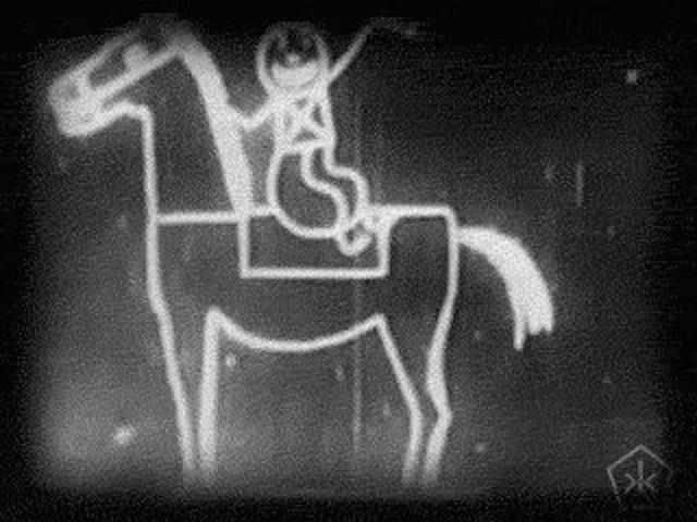 Émile Cohl's Fantasmagorie (1908)