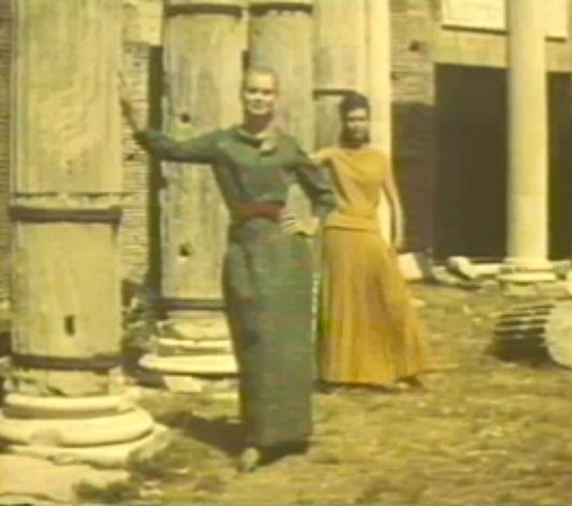 Fashion Parade amongst the Ruins of Rome (1964)