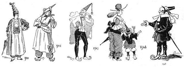 Fashions of the Future as Imagined in 1893