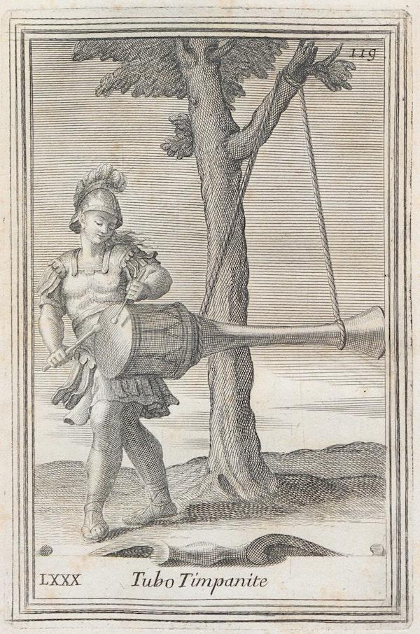 illustration from filippo buonanni's harmonic cabinet