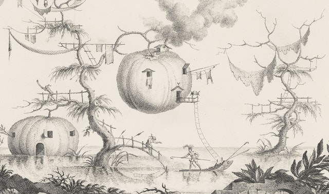 Filippo Morghen's Fantastical Visions of Lunar Life (1776)