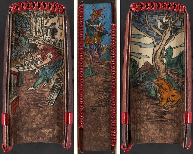 Fore-Edge Book Paintings from the Boston Public Library