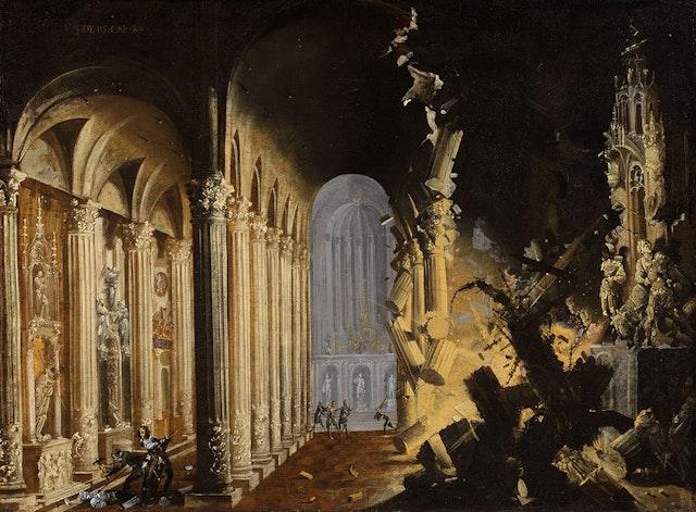 François de Nomé's Imaginary Ruins