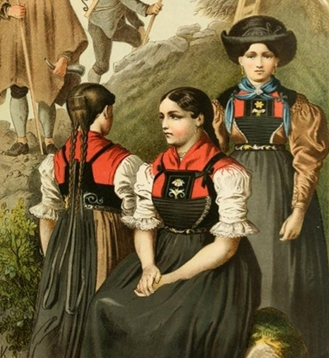 German Folk Dress (1887)