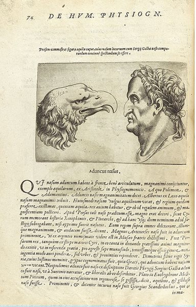 Giambattista della Porta's De humana physiognomonia libri IIII (1586)