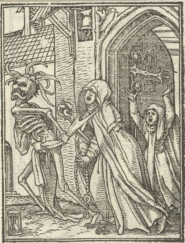 Hans Holbein's Dance of Death (1523–5) – The Public Domain Review