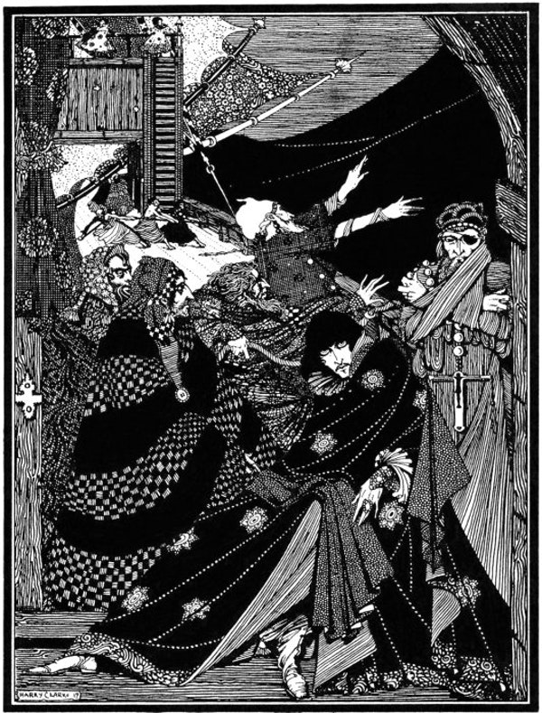harry clarke edgar allan poe