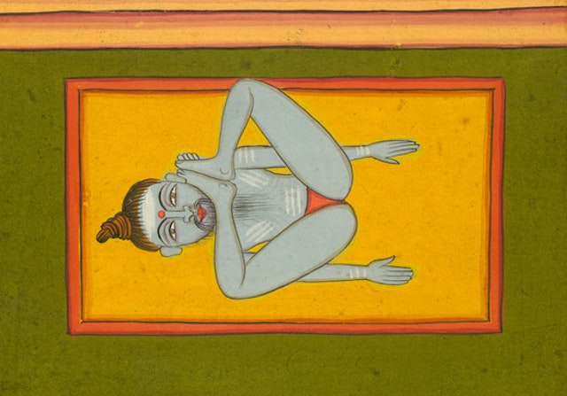 Images of Hatha Yoga from the Joga Pradīpikā (19th century)