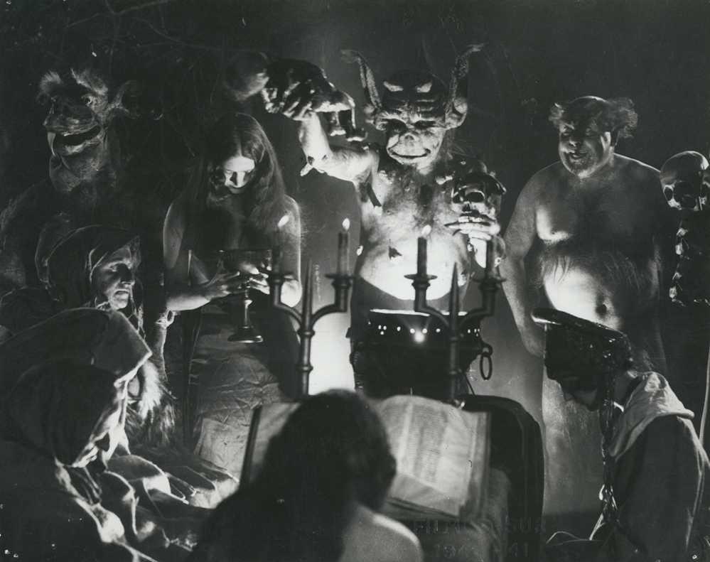 Häxan: Witchcraft Through The Ages (1922) – The Public Domain Review