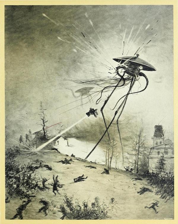 henrique alvim correa war of the worlds illustration